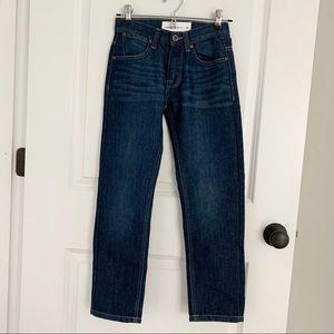 Dark Blue Straight Leg Fit - Never Worn!